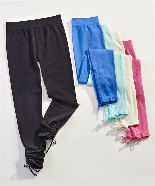 Capri Legging with ruching 50% Off