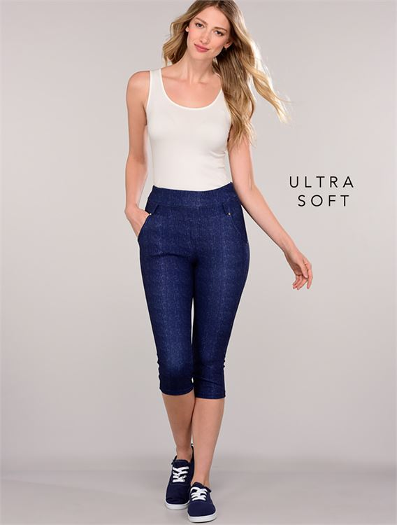 Ultra Soft Capri Jeggings