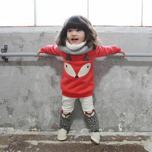 Girls two piece fox outfit....so cute!