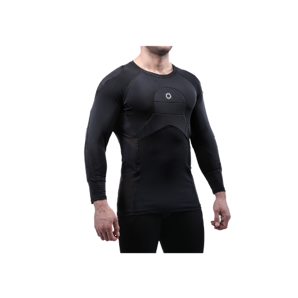 Elite BaDS 3/4  Sleeve, Padded Compression Shirt - EliteSportUSA