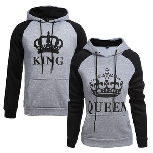 """Royal Couple"" - King und Queen Pullover Partner Pullis"