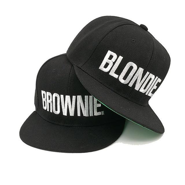 """Blondie"" + ""Brownie"" Cap Bundle Deal-Cap-HalloFreitag"