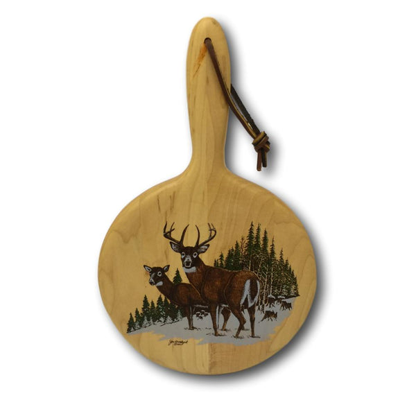High Country Whitetail Deer Cutting Board - Deer Shack