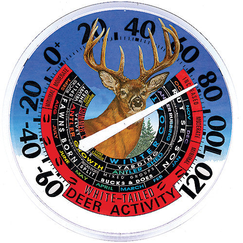 Deer Activity Thermometer - Deer Shack