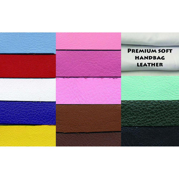 Premium Soft Colorful Handbag Leather Hides - 22-26 Square Feet - 3 oz Cowhide - Deer Shack