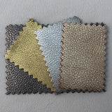 Premium Soft Metallic Handbag Leather Hides - 20-25 Square Feet - 3 oz Cowhide - Deer Shack