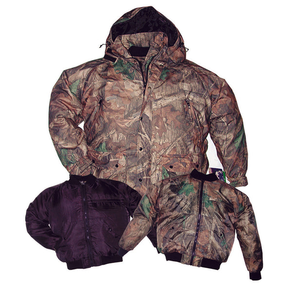 Waterproof Microfleece 4 in 1 Hunting Parka XL - Deer Shack