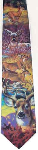 Deer Design Sportsman Tie