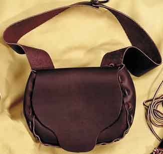 Make Your Own Leather Possible Bag Kit - DIY Rustic Cross Body Satchel - Deer Shack