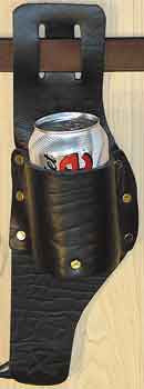 Belt Holster for Beer, Soda, Water, Pop - Beverage Waist Sling Drink Holder - Deer Shack