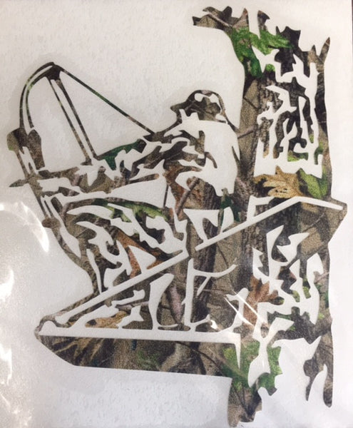 Bow Hunter Camo Decal - Deer Shack