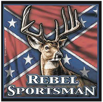 Rebel Sportsman Decal - Deer Shack