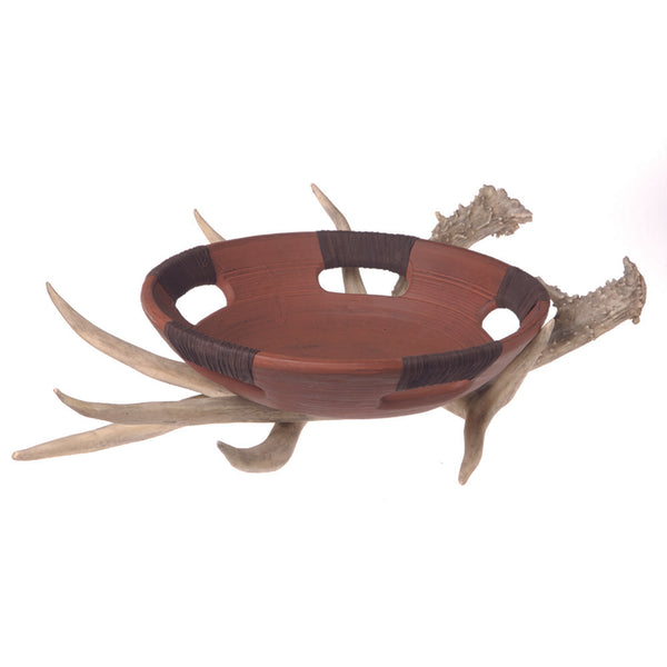 Faux Antler Decor and Bowl - Deer Shack