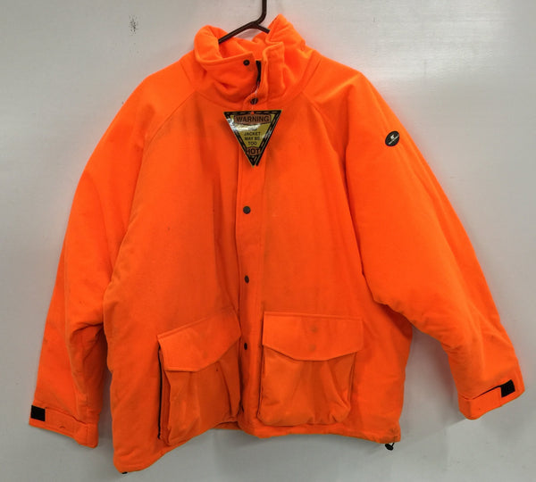 Blaze Orange H1 Jacket XXL - Deer Shack