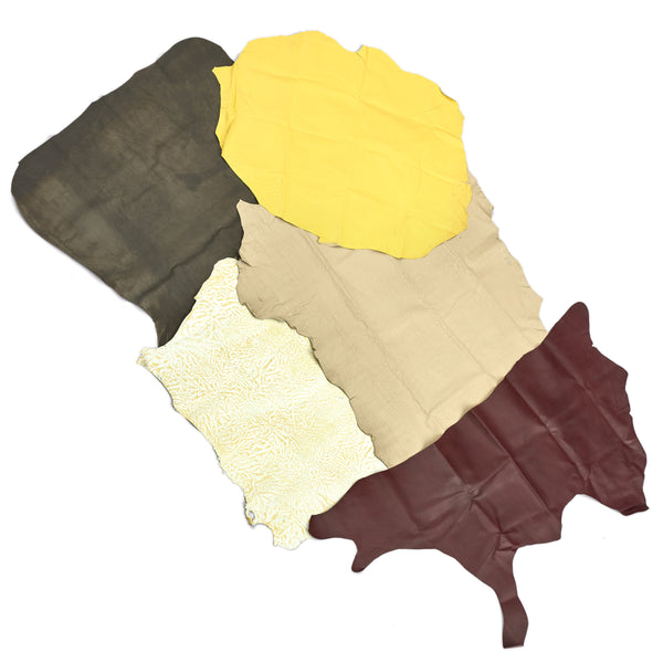 3 oz Value Priced Leather 50 square feet bundle - Deer Shack