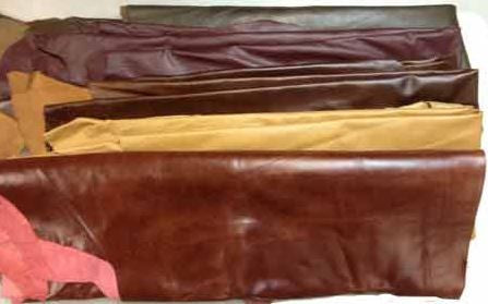 Assorted Upholstery Hides Grade B