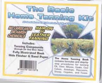 Basic Home Tanning Kit - Deer Shack