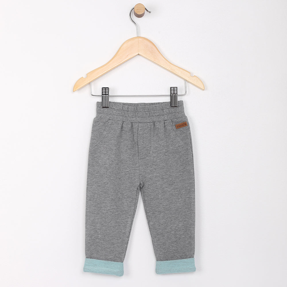 Super Comfy French Terry Knit Pants - Grey