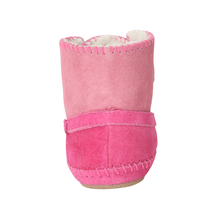 Cozy and Cute Baby Boot - Pink
