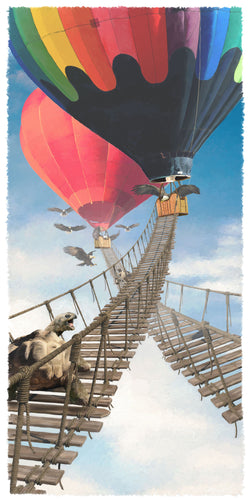 Balloon Bridge Giclee