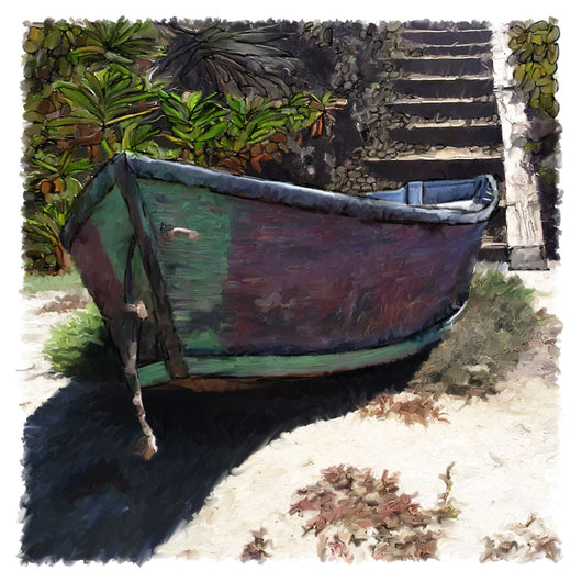 Deserted Dinghy Giclee