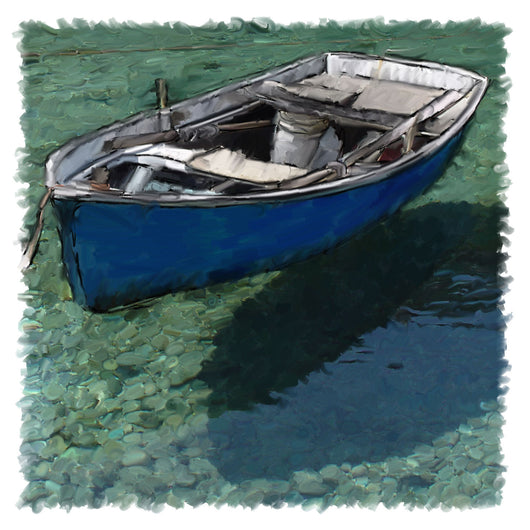 Floating Dinghy Giclee