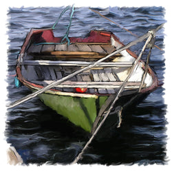 Hanging Dinghy Giclee
