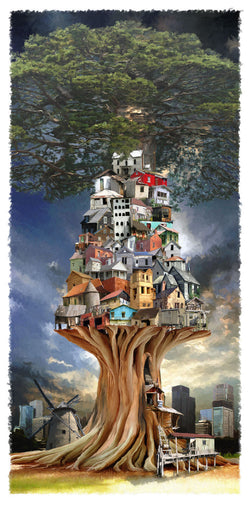 Tree Town Giclee