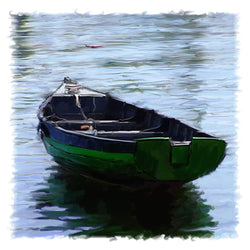 Green Dinghy Giclee