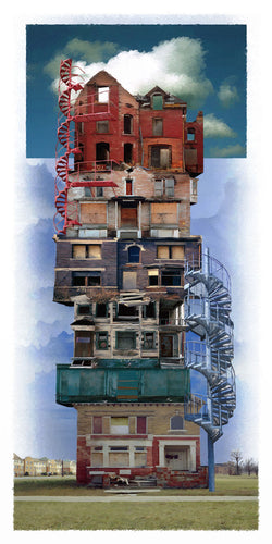 Building 291 Giclee