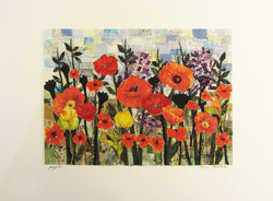 Poppies Mosaic Horizontal