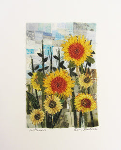 Sunflowers Mosaic
