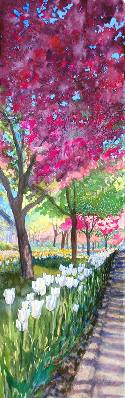 Blooming Boulevard Giclee