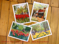 Downtown Tulips Notecards