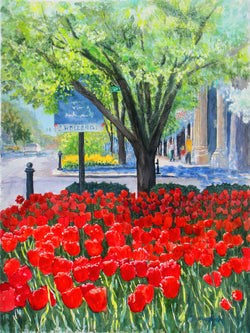 Downtown Tulips Giclee