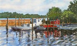 Lake Mac Tugs Giclee