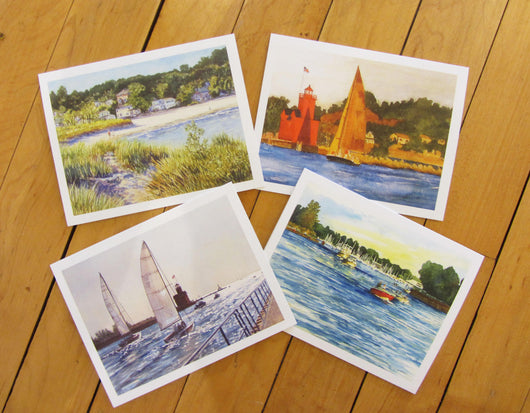 Macatawa Scenes Note Card Set