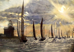 Sailing In Giclee