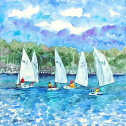 Sailing Lessons Giclee