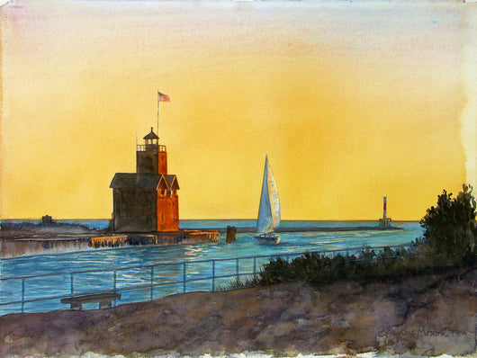 Summer Evening Glow Giclee