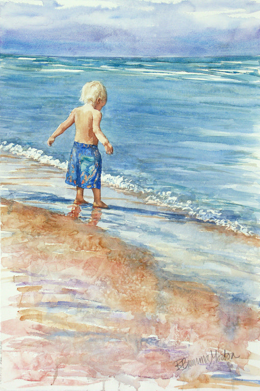 Testing The Waters Giclee
