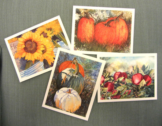 Autumn Images Note Card Set