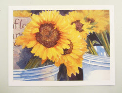 Market Sunflowers Notecards Set of 5