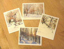 Winter Note Card Set