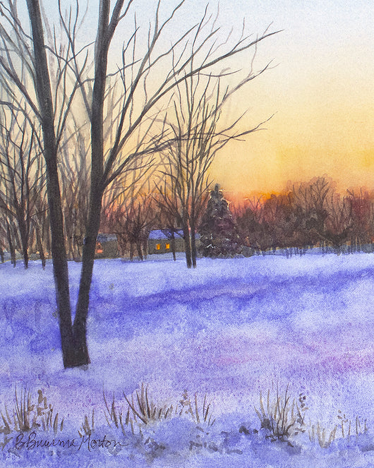 Winter View Giclee