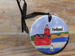 Holland Harbor Lighthouse Ornament