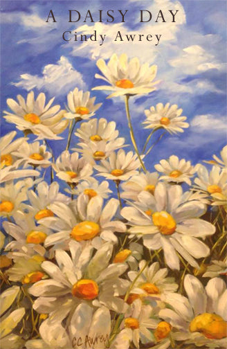 A Daisy Day Oil Painting