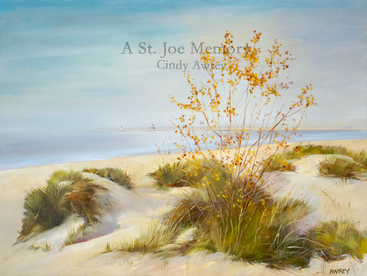 A St. Joe Memory Oil Painting