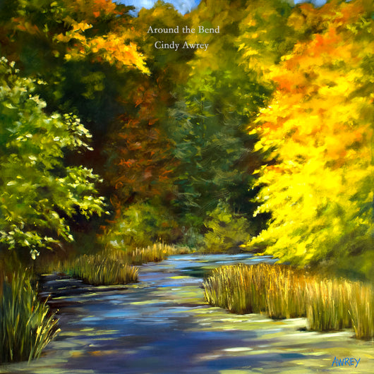 Around the River Bend Giclee