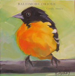 Baltimore Oriole Oil Painting